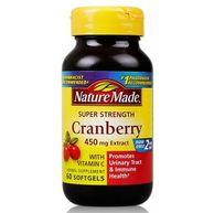 4件5折,女人我最大推荐,Nature Made 天维美 蔓越莓+维C胶囊 60粒*4瓶