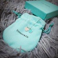 Tiffany & Co 蒂芙尼 双心吊坠项链