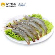 禧美 厄瓜多尔白虾 1.8kg *2件