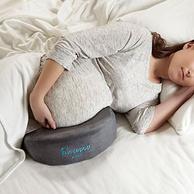 缓解孕妈妈不适,hiccapop 孕妇记忆棉多功能楔形靠枕