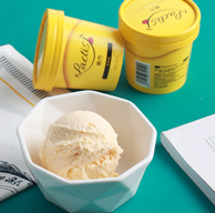4.9分好评!意市 lactis 雪糕 冰淇淋 90g*8杯*2件