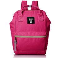 日本Anello 帆布钢圈定型袋口迷你背包