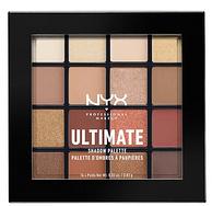 Warm Neutrals色,NYX 专业16色眼影盘