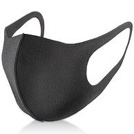 PITTA 防花粉灰尘过敏口罩 黑灰色 3枚*4包*2件