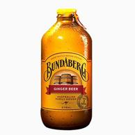 0酒精 Bundaberg 宾得宝 姜汁啤酒汽水375ml*13瓶