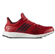 骚红配色,adidas 阿迪达斯 Ultra Boost ST 男款跑鞋