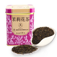 中粮出品 中茶 福建 茉莉花茶120g 铁罐装