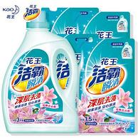 日本花王 Attack 洁霸 洗衣液 9kg组合装