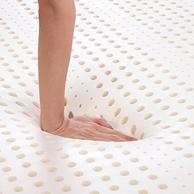 5cm厚!泰国进口 Ecolifelatex 伊可莱 乳胶床垫 180*200cm