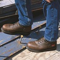 限尺碼,Timberland天木蘭  男士 PRO Pitboss 6英寸鋼頭靴