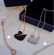 新低!施华洛世奇 Iconic Swan 银链小黑天鹅 5347330