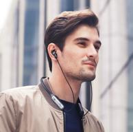 新品:JBL 颈挂式 主动降噪耳机V150NC