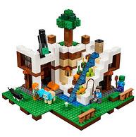 LEGO 樂高 Minecraft系列 瀑布基地 729顆粒 21134