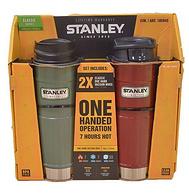 18点开始,历史新低: 473ml*2个装,Stanley 史丹利 美国保温杯大师 真空保温杯礼盒