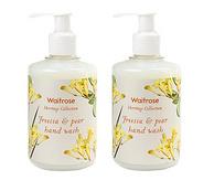Waitrose 英国皇室 小苍兰与梨 进口滋润保湿洗手液  250ml*6件