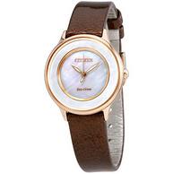 CITIZEN 西铁城 Circle Of Time EM0383-08D 女士光动能腕表 118美元约¥801(京东1680元起)