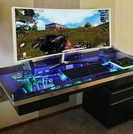 史低!Plus专享,梦幻吃鸡巨屏!惠科 34寸4K曲面显示器C340
