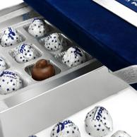 七夕礼物: 意大利国宝品牌 Baci 芭喜 榛仁黑巧克力 21粒 绒布礼盒装300g