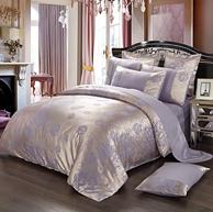 Xanlenss 軒藍仕 純棉貢緞親膚四件套 1.8米床適用