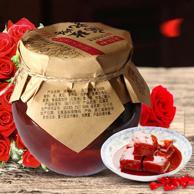 中华老字号 老恒和 玫瑰豆腐乳320g*2瓶