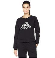 adidas 阿迪达斯 GFX CREW LOGO 女式运动型格卫衣