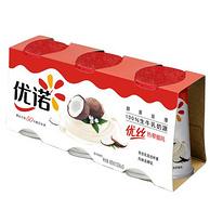 买一送一,优诺  热带椰风酸奶酸牛奶 135g*6盒