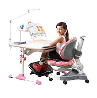 镇店之宝:台湾原装,生活诚品 MC303+AU602 防近视儿童桌椅组合套装