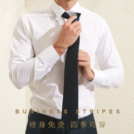 四季可穿 十米布 男士 修身免烫 衬衫