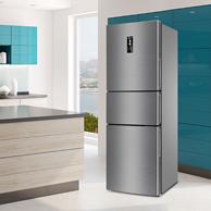 1日0點:MeiLing 美菱 BCD-249WP3CX 249升 風冷 三門冰箱