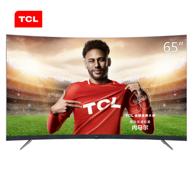 TCL 65T3 65英寸 4K曲面 液晶電視
