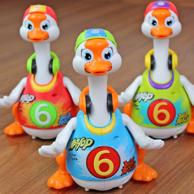 京东18万99%好评!汇乐玩具 摇摆鹅 电动玩具