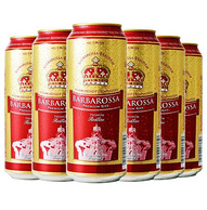 BARBAROSSA 凯尔特人 红啤酒 500ml*6听 *4件