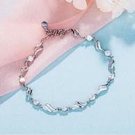 silverage 银时代 爱情魔方 925银手链 *3件 (3款可选)
