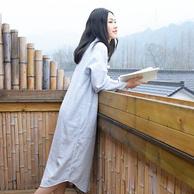 网易严选 日式双层纱长裙