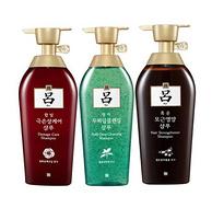 韩国原装进口!Ryo吕洗发水组合套装500毫升*3瓶