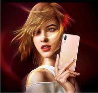 华为 P20 5.8英寸全面屏 麒麟970 6G+64G  全网通手机