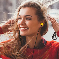 AKG 爱科技 线控带麦 入耳式耳机Y20 U