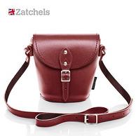 Zatchels 經典系列 手工牛皮水桶包