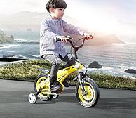 蘭Q 鎂合金兒童自行車 12寸