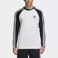 3件!adidas 阿迪達斯 Emx38 男子長袖運動T恤