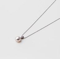 Maria 8.5mm 阿古屋 珍珠 S925银质吊坠