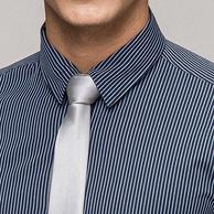 9日0点:Romon 罗蒙 男士 长袖条纹衬衫