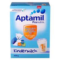 Aptamil 爱他美 婴幼儿奶粉 1+段 600g *3件
