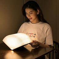 营造温馨气氛,大头人 创意书页浪漫小夜灯