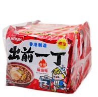 香港產 NISSIN 出前一丁 香辣麻油味 方便面 100g*5包