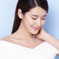 QianXing 千星珠宝 淡水珍珠手链项链套装