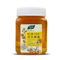 限地区、6件:中粮 悦活 优选100 百花蜂蜜960g