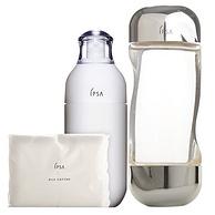 19日0点:IPSA茵芙莎 基础保养护肤套装 流金水200ml+舒缓保湿乳液SE2号175ml+化妆棉