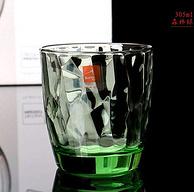 Bormiolirocco 波米欧利.罗克 钻石玻璃杯 绿色水杯 6只装 305ml