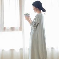 网易严选 孕产妇哺乳连衣裙 2件